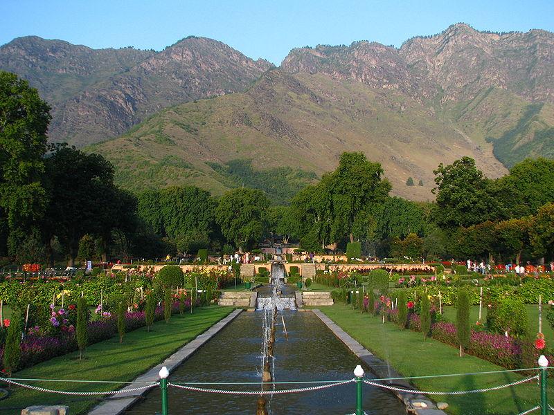 Nishat Bagh Kashmir
